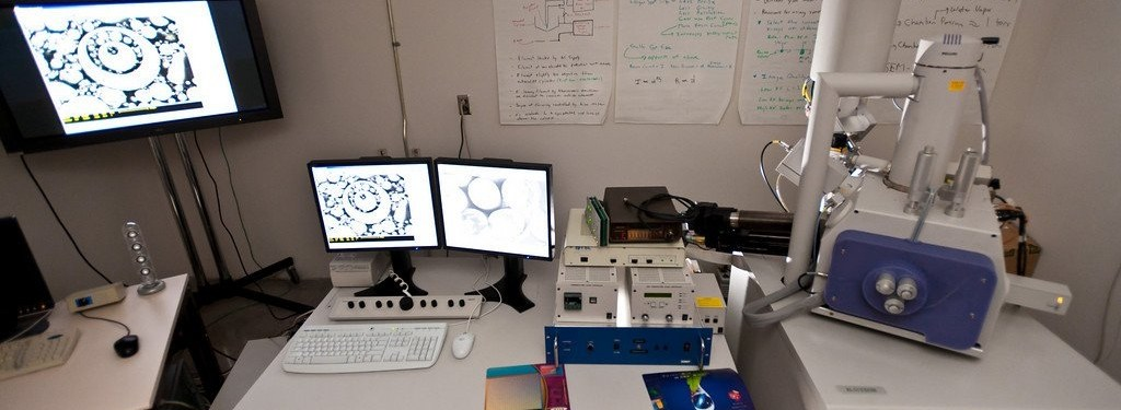 Image of equipment used in micro- and nano- scaled research