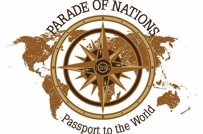 Parade of Nations 2016 logo