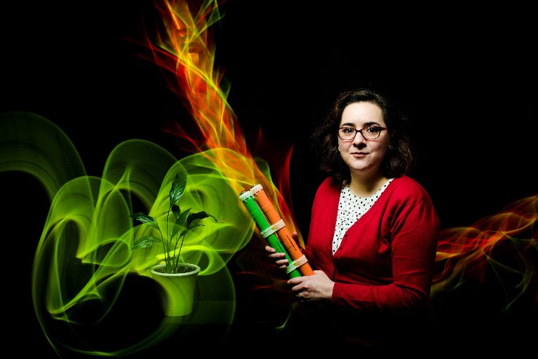 Lucia Gauchia finds inspiration for better battery technology in ecology.