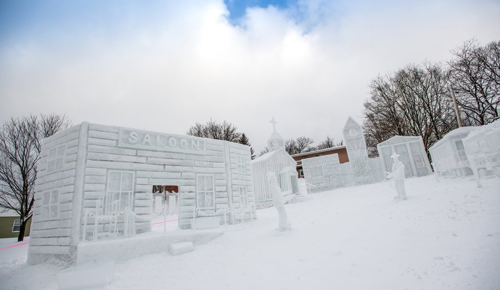 snow statue competition winners