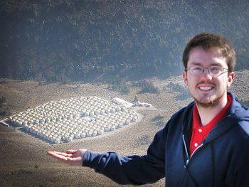 Chad Brisbois will be heading to Los Alamos National Laboratory as part of the Department of Energy's Office of Science Graduate Student Research (SCGSR) Program.