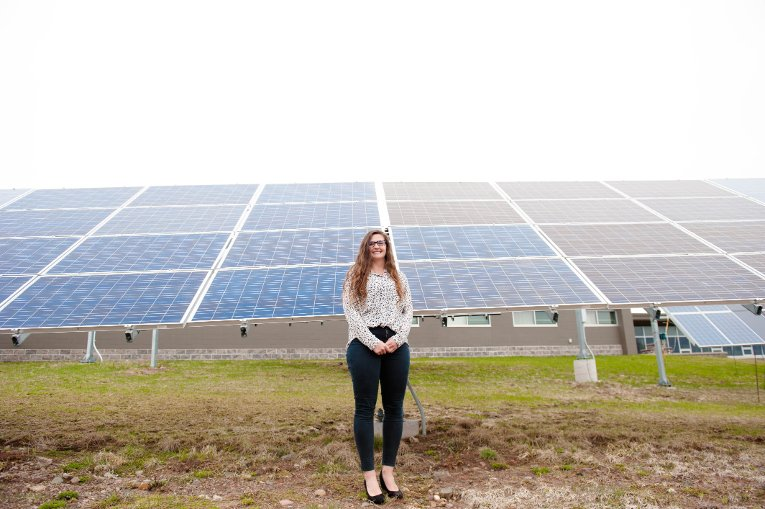 To fully replace all the coal production in the US with solar PV, it would take 755 gigawatts; the return on investment could still total in the millions for each life saved, which PhD student Emily Prehoda calculated with Pearce.