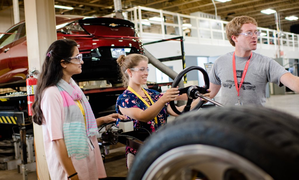 Women in Automotive Engineering: Girls at Michigan Tech ...
