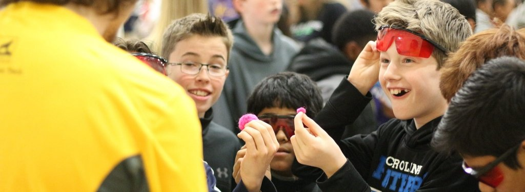 Students at STEM festival