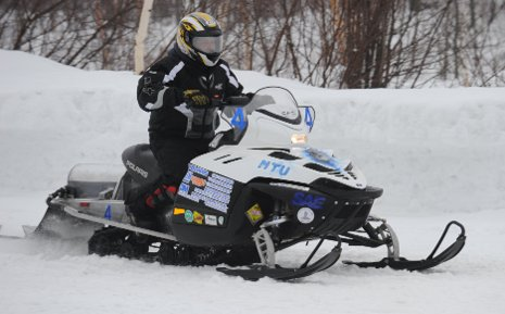 Michigan Tech Clean Snowmobile 2009
