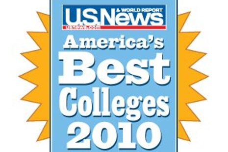 US News & World Report Undergraduate Rankings 2010