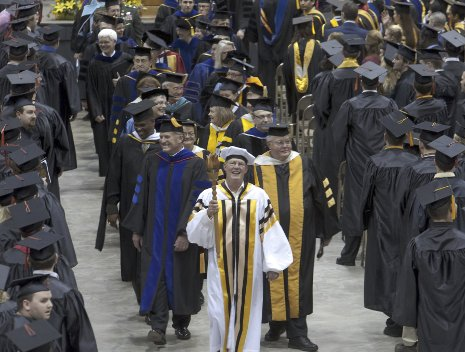 Spring Commencement Procession 2009