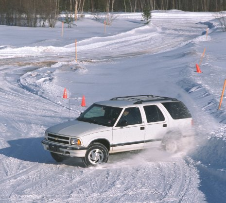 Michigan Tech's Winter Driving School