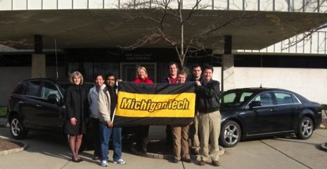 Michigan Tech is training automotive engineers in hybrid electric vehicle technologies.