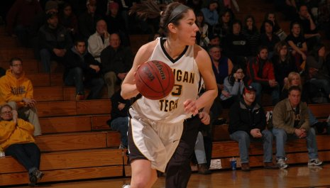 Katie Wysocky, women's basketball player and Academic All-American