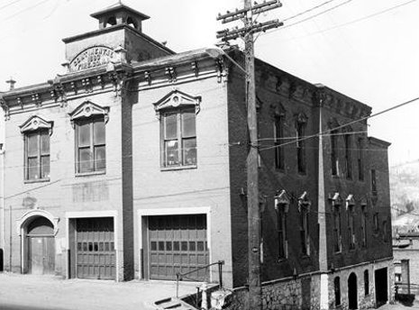 The old Fire Hall in downtown Houghton will be restored