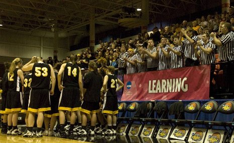 Michigan Tech's women's basketball team was number 1 in the nation academically.
