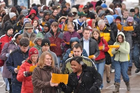 Michigan Tech celebrates Martin Luther King Day, 2010