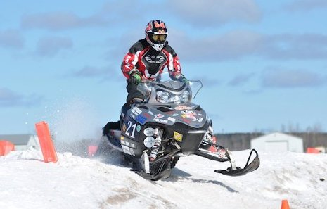 The winning zero emissions entry in the 2010 SAE Clean Snowmobile Challenge, University of Wisconsin-Madison