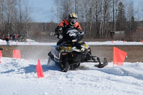 Michigan Tech's entry in the 2010 SAE Clean Snowmobile Challenge