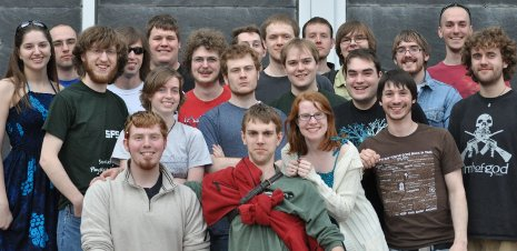 Michigan Tech's award-winning Society of Physics Students chapter, 2010-11