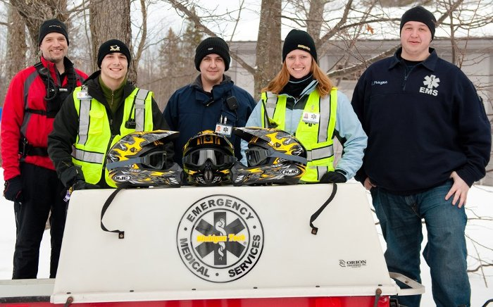 Team members include, left to right: Jon Stone, Nick Zochowski, Dustin Gaberdiel, Danielle Boettger, and Gage Pruyne.