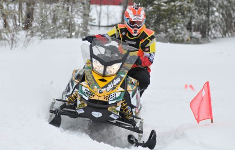 Clarkson University's winning entry in the 2011 Clean Snowmobile Challenge