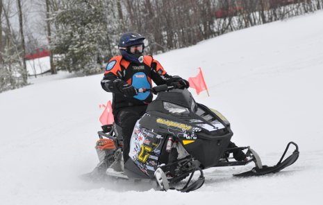 Michigan Tech's zero-emissions entry in the 2011 SAE Clean Snowmobile Challenge