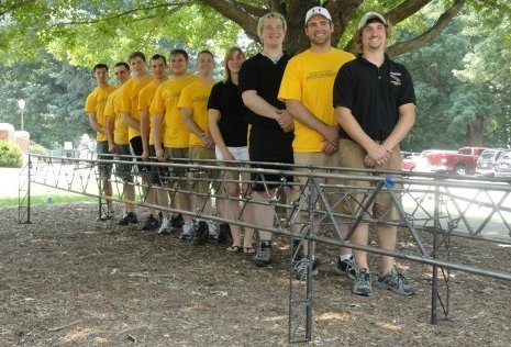 Michigan Tech's Steel Bridge team took two first places and fourth overall in national competition.