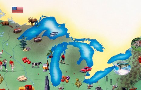The Great Lakes are a precious resource, and a new study by Michigan Tech's Alex Mayer will help decision makers make informed choices on the watershed's development.