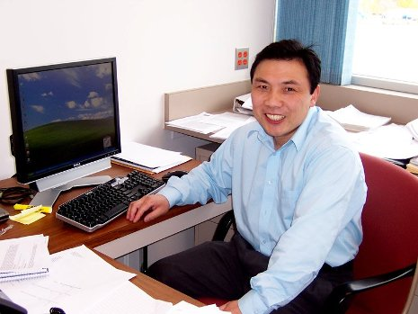 Yun Hang Hu, the inaugural Charles and Carroll McArthur Professor at Michigan Technological University