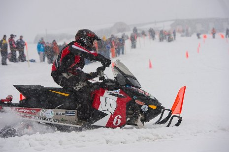 Wisconsin-Madison's winning internal combustion sled.