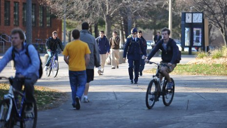 Michigan Tech has been named a Bike Friendly University.