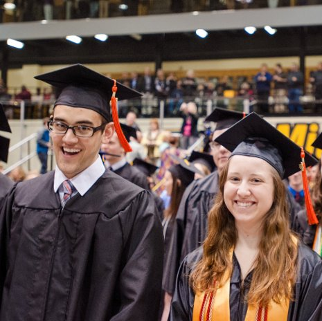 These Michigan Tech grads have a lot to be happy about. According to Payscale.com, Tech graduates rank 18th in the nation among 437 public universities in ROI from their degrees.
