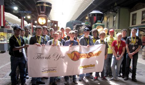 Students visited the Lake Superior Railroad Museum, where they got to ride on the North Shore Scenic Railroad.