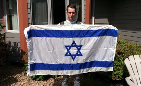 Nathan Sankary heads for graduate school in Israel.