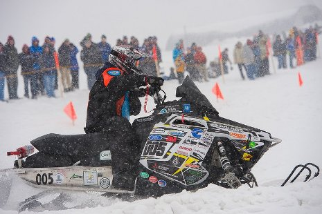 Michigan Tech's entry in the 2013 SAE Clean Snowmobile Challenge