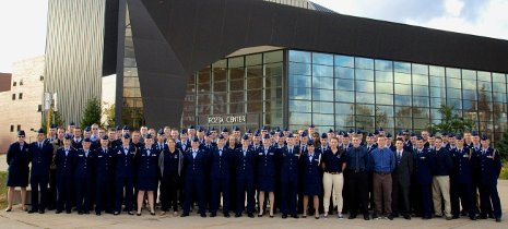 Michigan Tech's AFROTC detachment