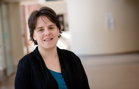 Amy Marcarelli is shown at Michigan Technological University. Marcarelli, an associate professor in biological sciences has received a NSF CAREER Award