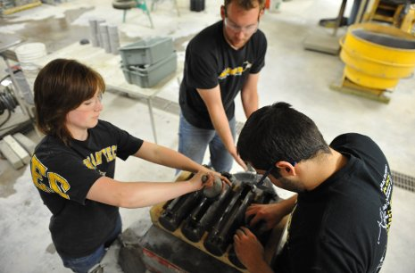 Hands-on education prepares Michigan Tech students for high-paying jobs.
