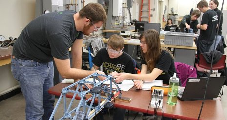 A new NSF program will help Michigan Tech's Department of Mechanical Engineering-Engineering Mechanics attract more women and under-represented minority undergraduates.