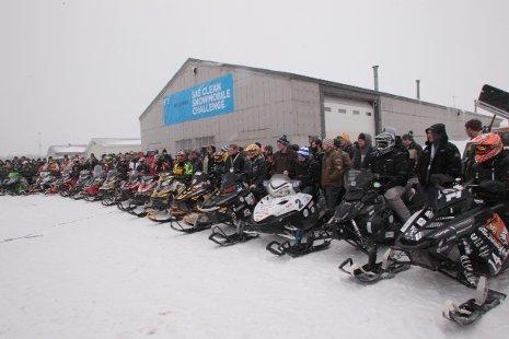 Five Teams Complete Clean Snowmobile Challenge Endurance Run