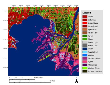 Mapping the Great Lakes\' Wetlands | Michigan Technological ...