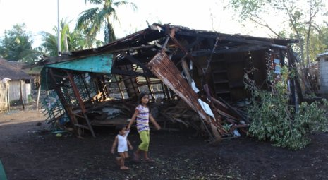 Some of the devastation caused by Typhoon Yolanda in the Philippines.