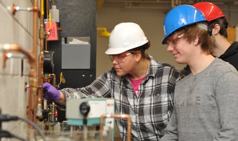 Students in Michigan Tech's Unit Operations Lab get hands-on preparation for high-powered chemical engineering careers.