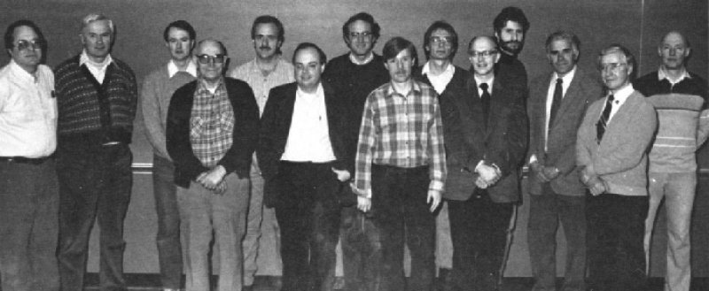 1988 Faculty Photo
