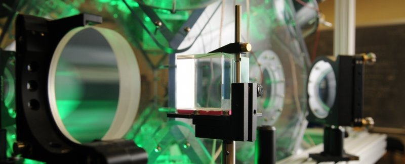 A small cloud chamber