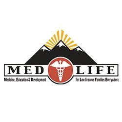 MEDLIFE Michigan Tech logo (Medicine, Education, and Development for Low Income Families Everywhere
