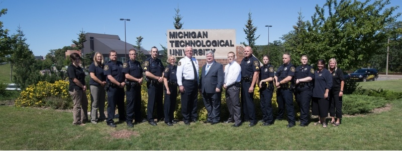 Group image of the Public Safety staff