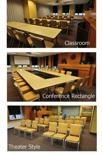 Classroom and meeting room setups