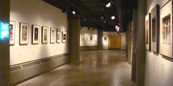 Inside the Rozsa Gallery
