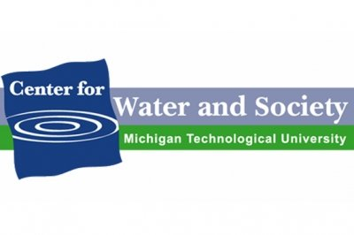 Center for Water Society at Michigan Tech Logo