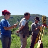 Researchers surveying
