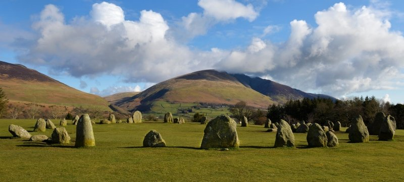 Castlerigg Stone Circle, Lake District, Cumbria UK