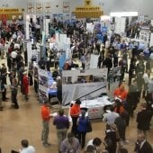 Career Fair at Michigan Tech.